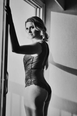 Black and White | Calgary Boudoir Photographer | SLIVER Photography