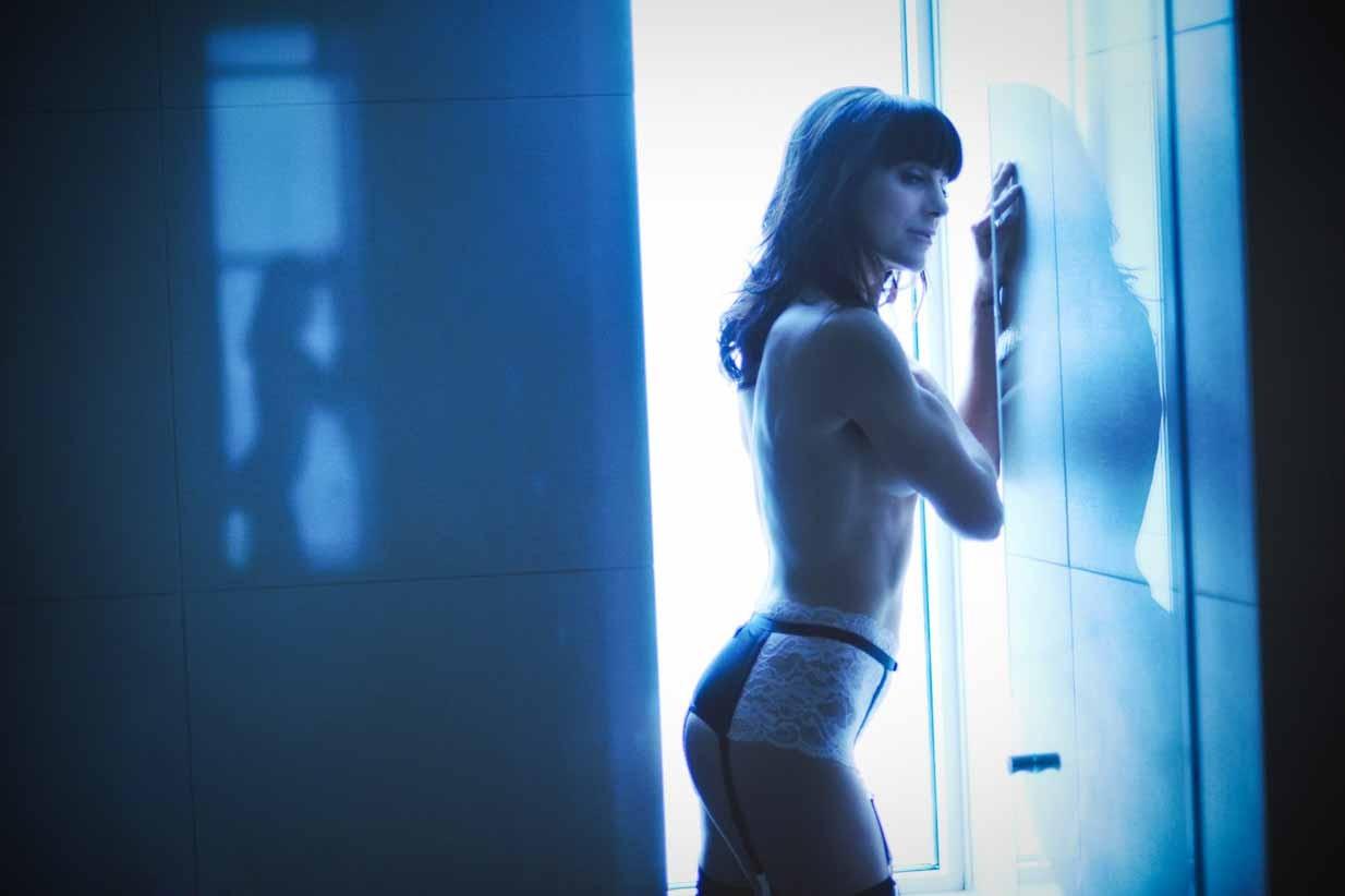 Waiting | Calgary Boudoir Photographer | SLIVER Photography