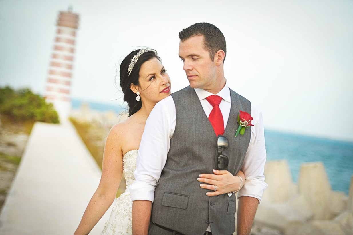 Lighthouse in Mexico | Destination Wedding Photographer | SLIVER Photography