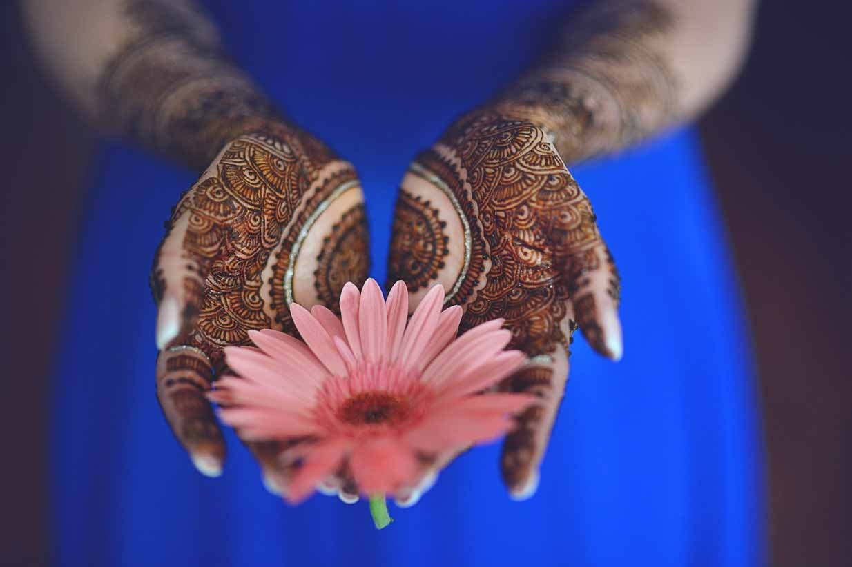 Henna and Flower | Destination Wedding Photographer | SLIVER Photography