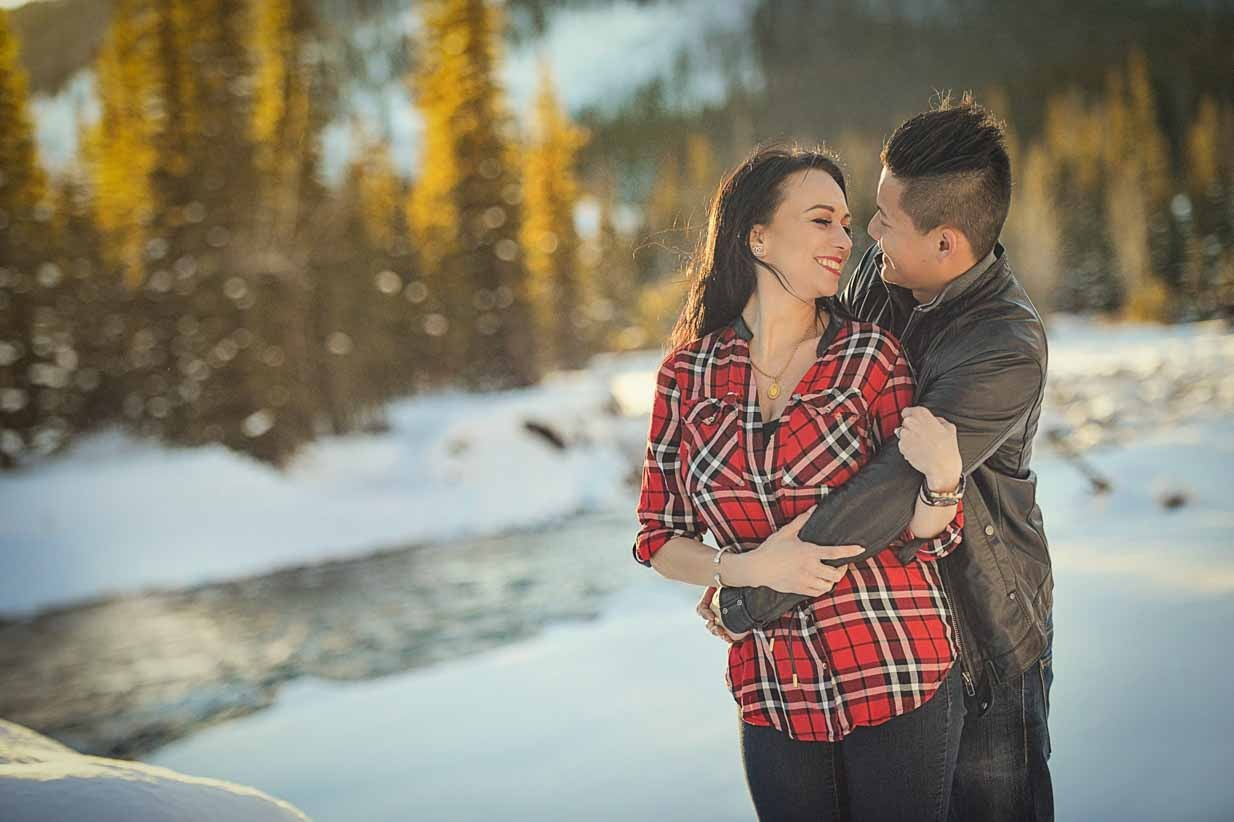 Flannel and Leather | Calgary Engagement Photographer | SLIVER Photography