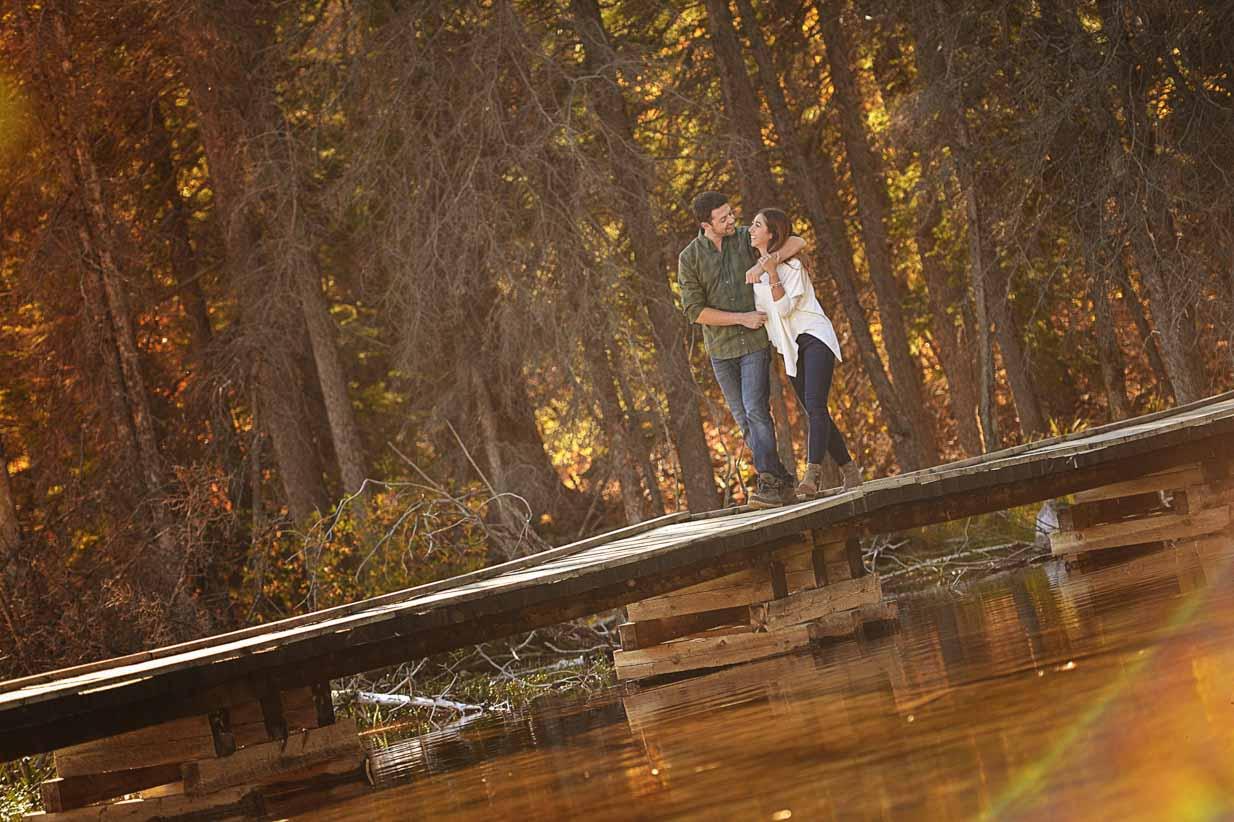 Grotto Lake Walk | Calgary Engagement Photographer | SLIVER Photography