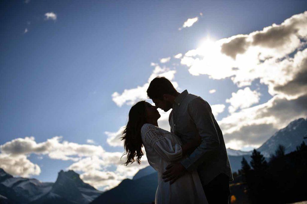 Mountain Engagement | Calgary Engagement Photographer | SLIVER Photography