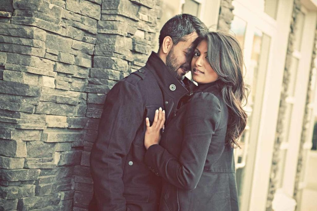 Indian Engagement | Calgary Engagement Photographer | SLIVER Photography