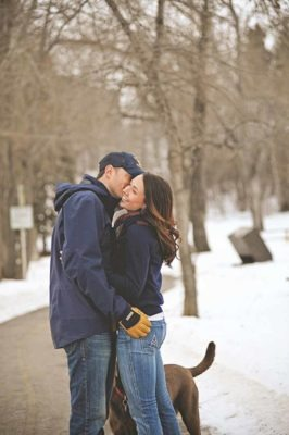 Winter Engagement | Calgary Engagement Photographer | SLIVER Photography