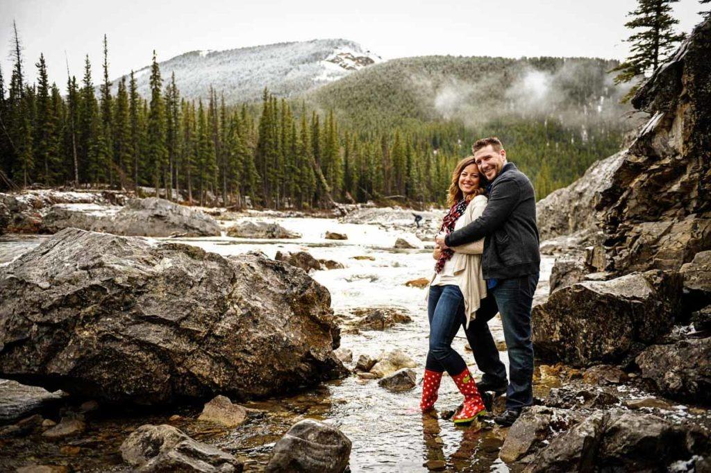 Bragg Creek Engagement Photos | Calgary Engagement Photographer | SLIVER Photography