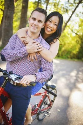 Bicycle Built for Two | Calgary Engagement Photographer | SLIVER Photography