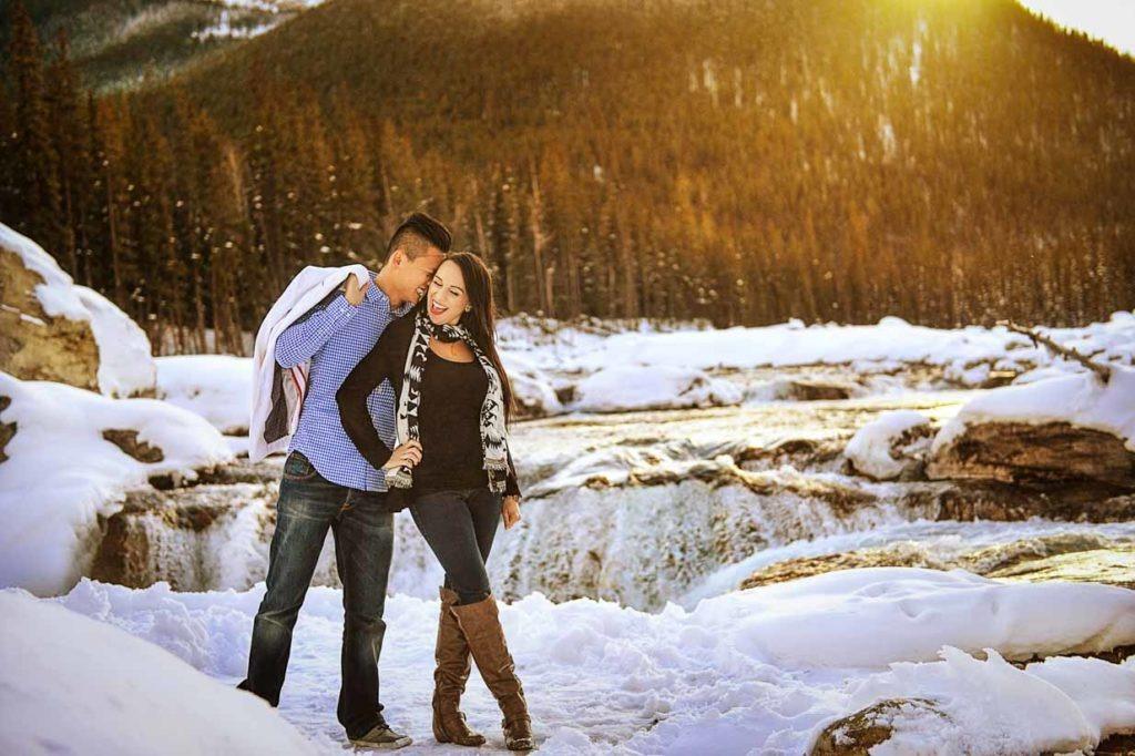 Winter Engagement | Calgary Engagement Photographer | SLIVER Photography