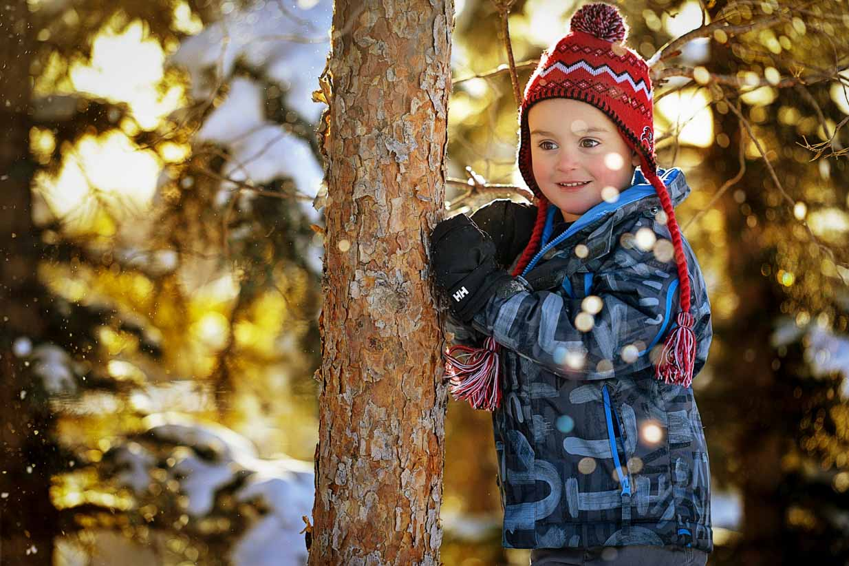 Winter Shot | Calgary Family Photographer | SLIVER Photography
