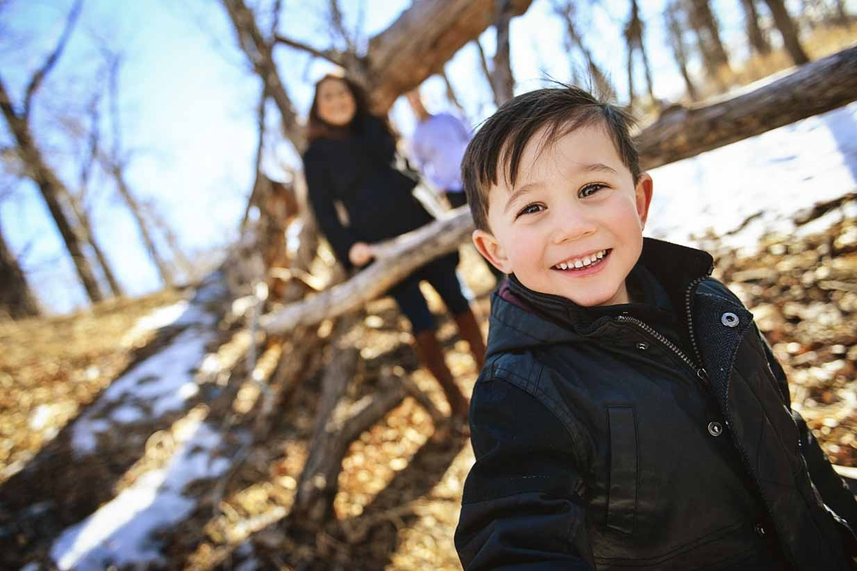 Smile | Calgary Family Photographer | SLIVER Photography