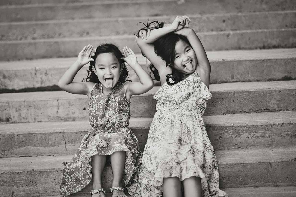 Sisters | Calgary Family Photographer | SLIVER Photography