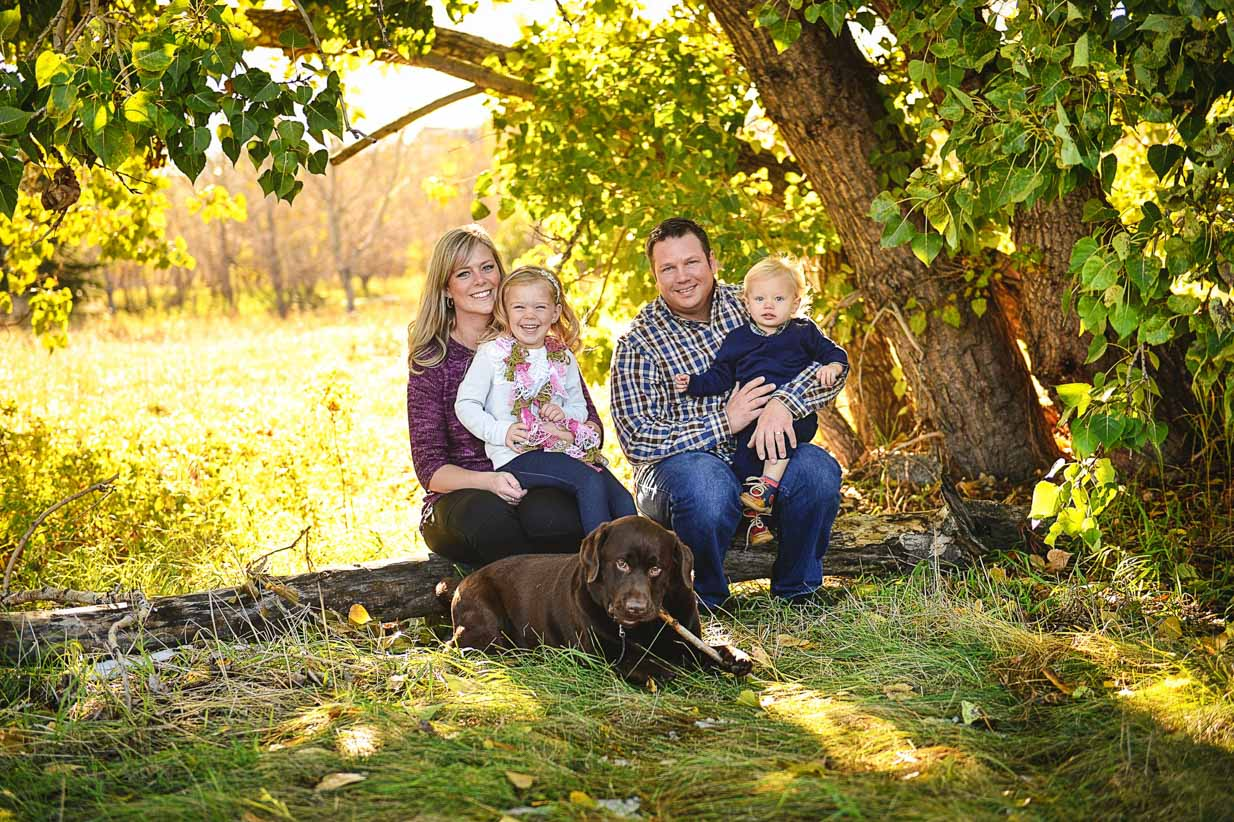 Family Portrait | Calgary Family Photographer | SLIVER Photography