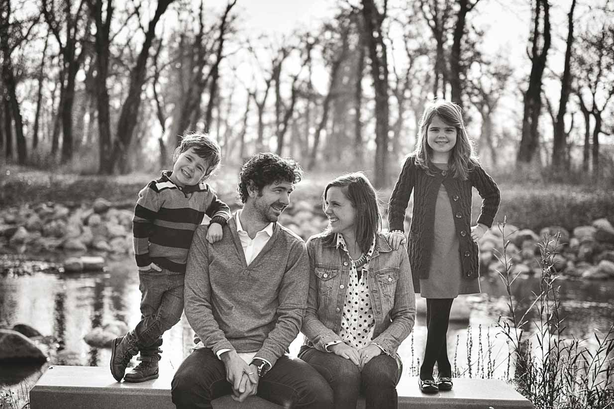 Classic family | Calgary Family Photographer | SLIVER Photography