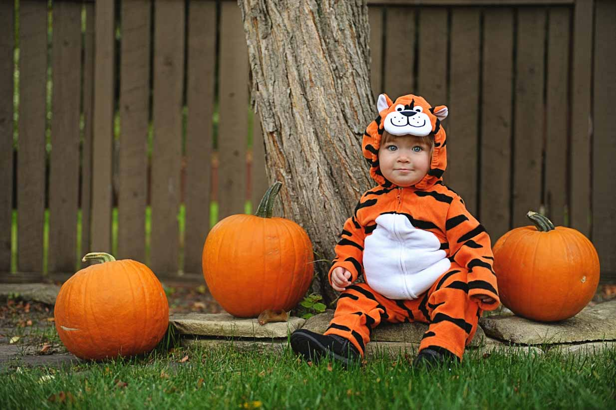Happy Halloween Tiger | Calgary Family Photographer | SLIVER Photography