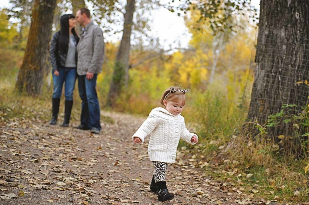 First Steps | Calgary Family Photographer | SLIVER Photography