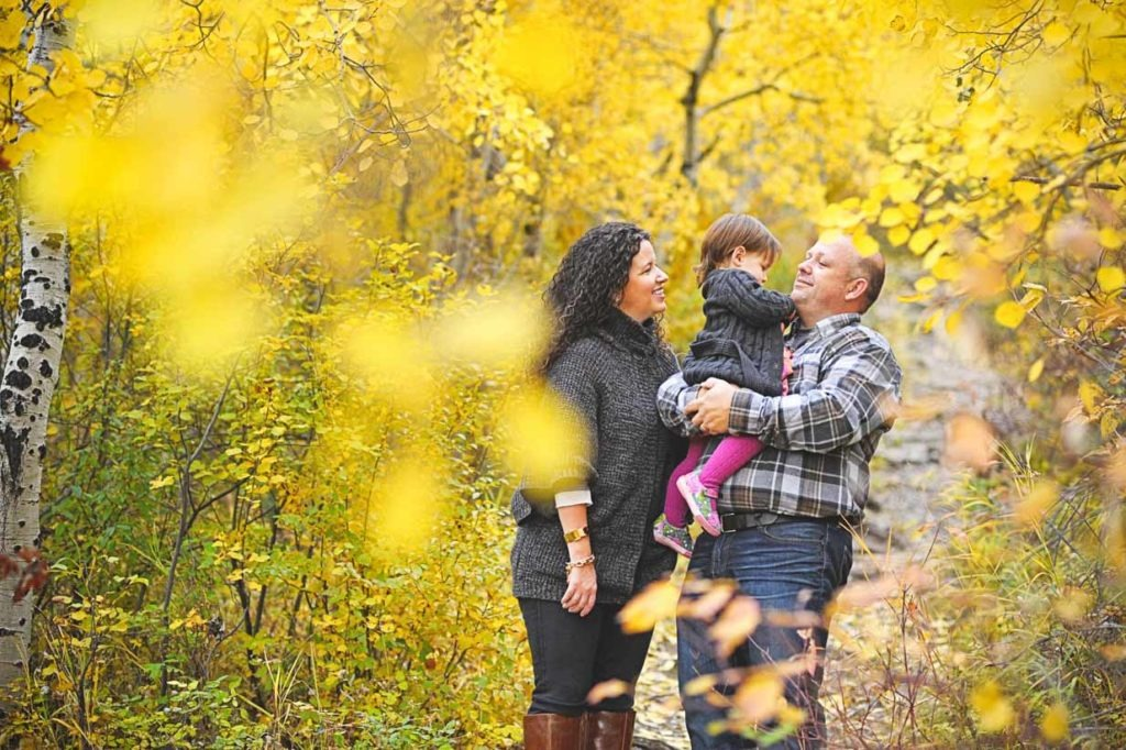 Leaves | Calgary Family Photographer | SLIVER Photography