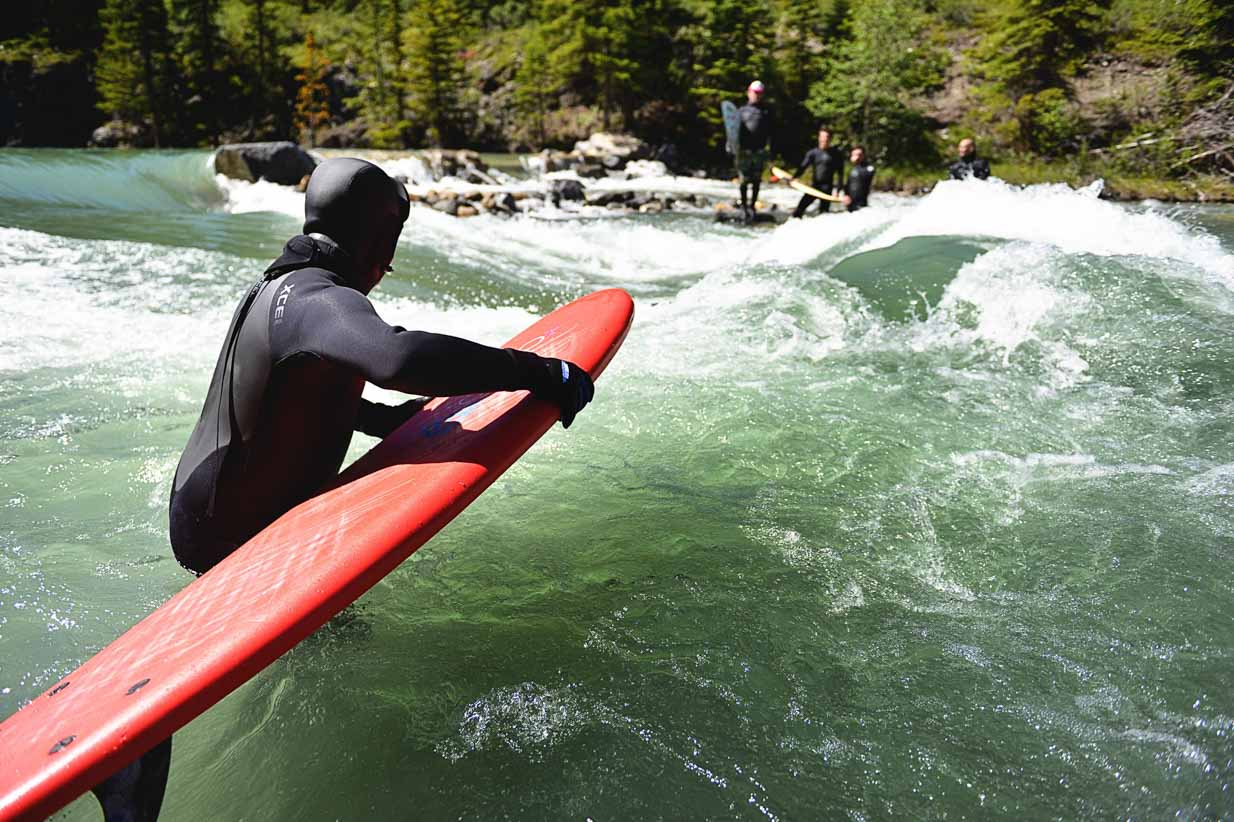 River Surfing | Calgary Lifestyle & Corporate Photographer | SLIVER Photography