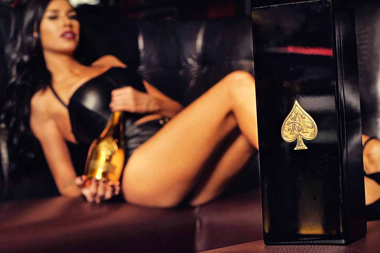 Ace of Spades Champagne | Calgary Lifestyle & Corporate Photographer | SLIVER Photography