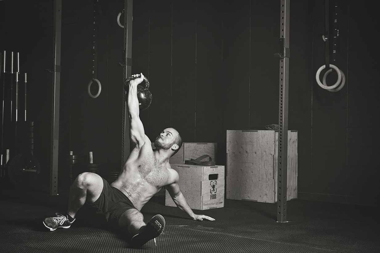 Crossfit Box | Calgary Lifestyle & Corporate Photographer | SLIVER Photography