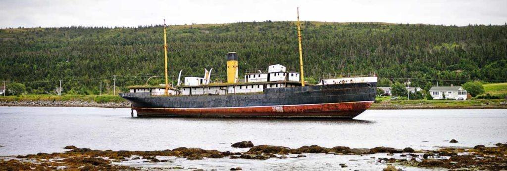 Nova Scotia Shipwreck | Calgary Landscape Photographer | SLIVER Photography