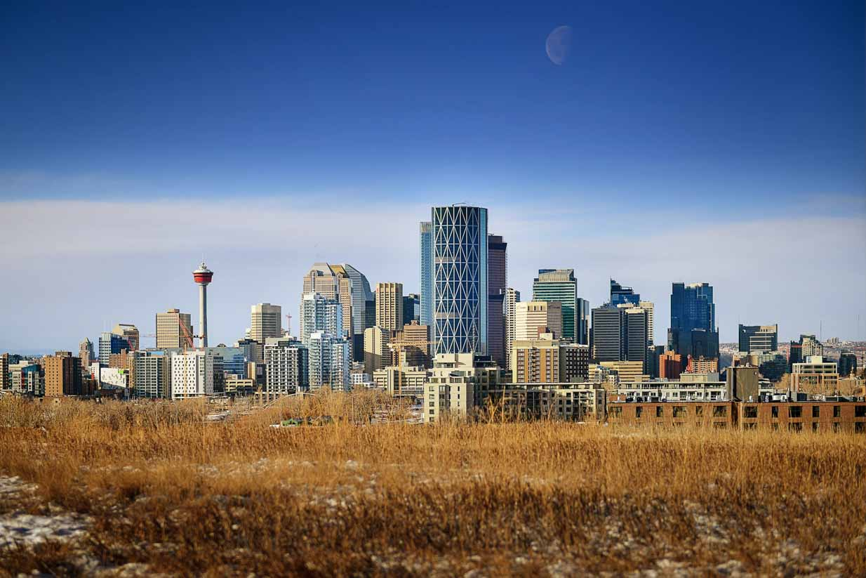 Calgary View | Calgary Landscape Photographer | SLIVER Photography