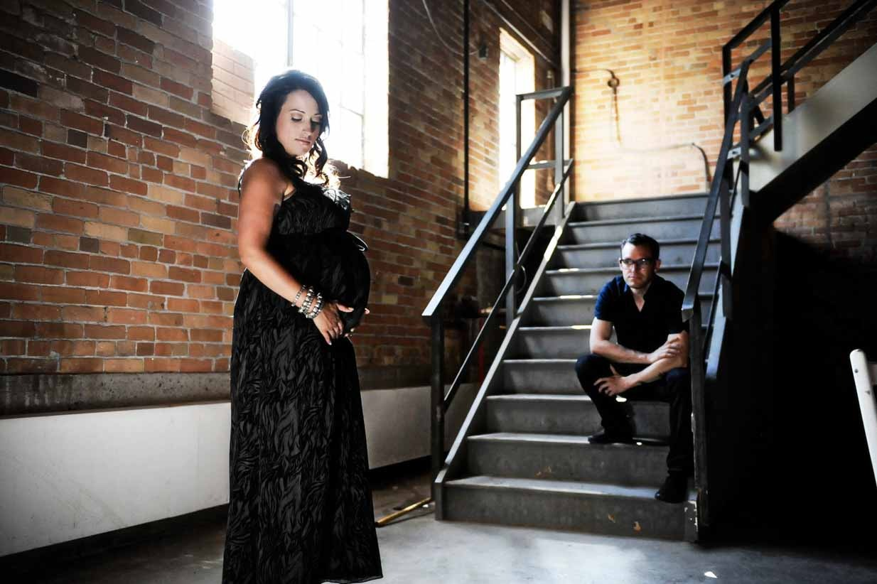 Expecting | Calgary Maternity Photographer | SLIVER Photography