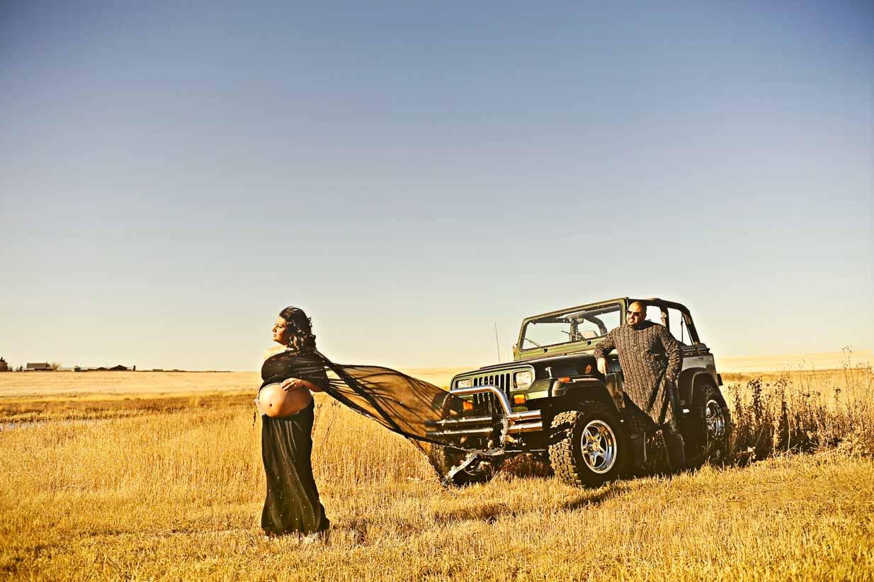 Indian Maternity | Calgary Maternity Photographer | SLIVER Photography