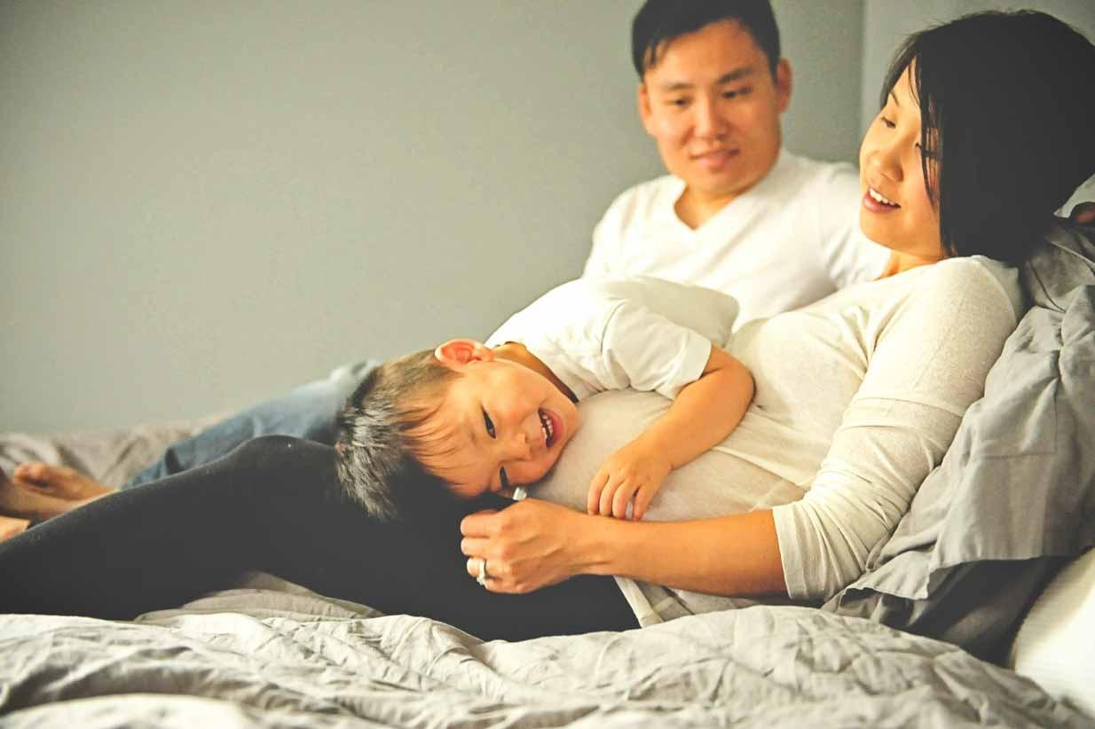 Asian Maternity | Calgary Maternity Photographer | SLIVER Photography