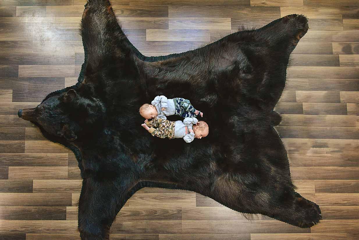 Twin boys | Calgary Newborn Photographer | SLIVER Photography
