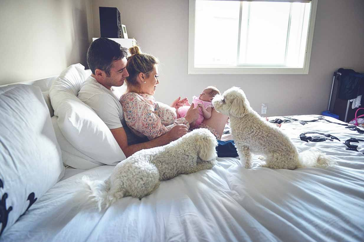 Family with Baby | Calgary Newborn Photographer | SLIVER Photography