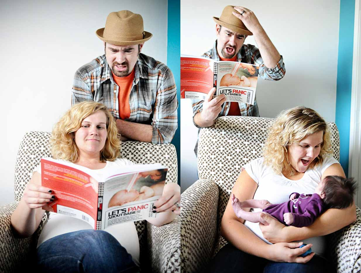 Belly to baby | Calgary Newborn Photographer | SLIVER Photography