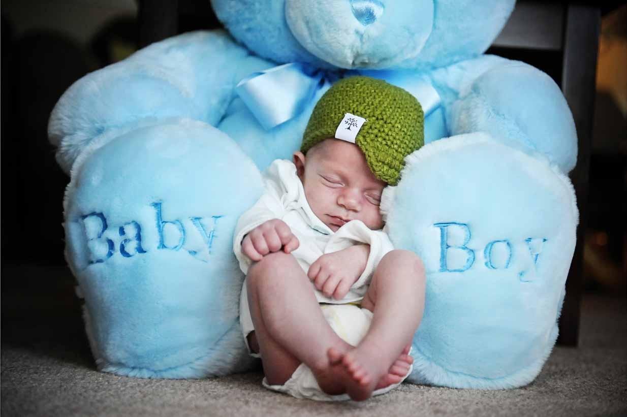 Baby Boy | Calgary Newborn Photographer | SLIVER Photography
