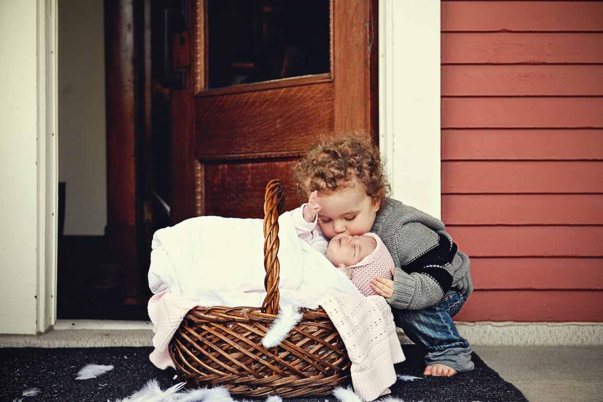 Stork Delivery | Calgary Newborn Photographer | SLIVER Photography