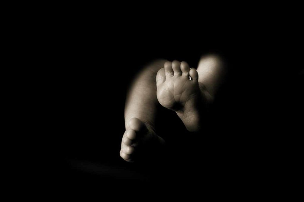 Black and White feet | Calgary Newborn Photographer | SLIVER Photography