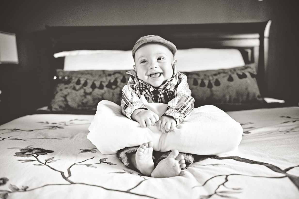 Baby in Hat | Calgary Newborn Photographer | SLIVER Photography