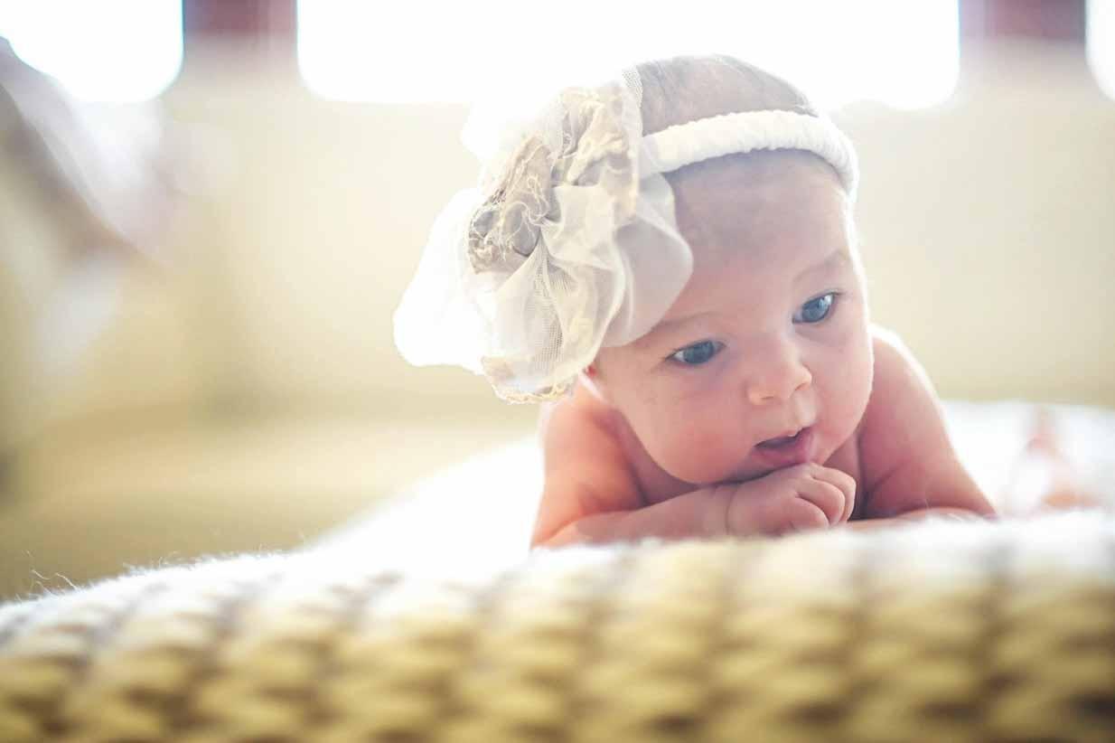 Baby Girl | Calgary Newborn Photographer | SLIVER Photography