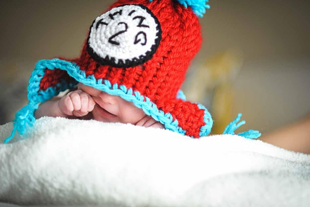 Thing 1 Thing 2 | Calgary Newborn Photographer | SLIVER Photography