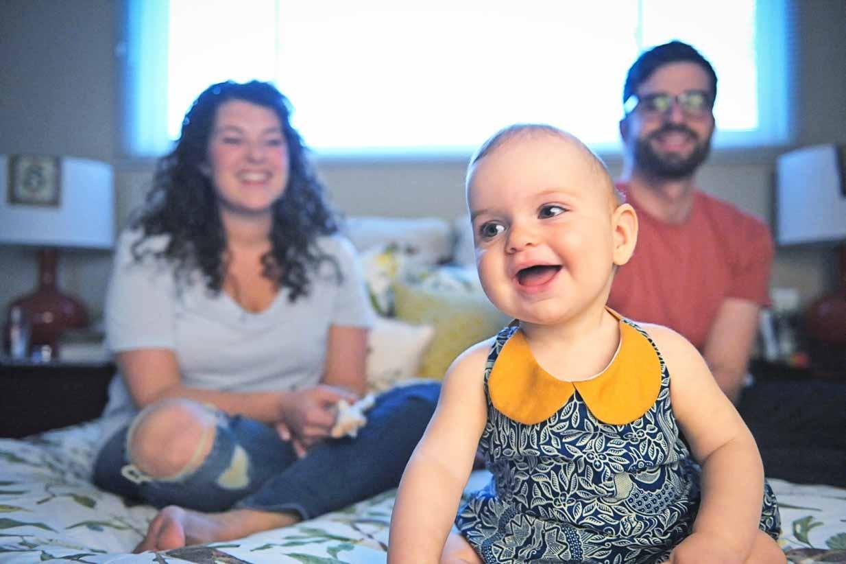 Family and Baby Girl | Calgary Newborn Photographer | SLIVER Photography