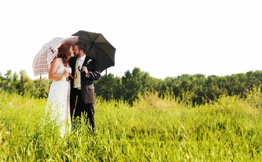 Sunshower | Calgary Wedding Photographer | SLIVER Photography