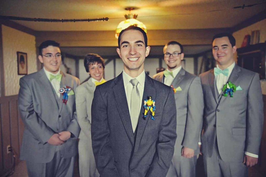 Marvel Groomsmen | Destination Wedding Photographer | SLIVER Photography