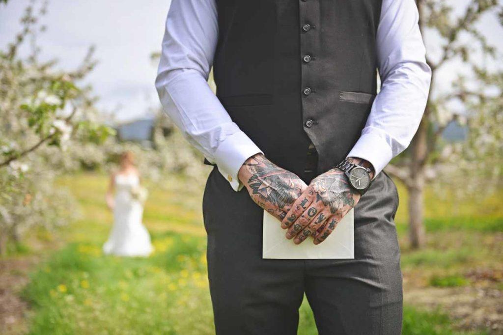 Tattoo Wedding Love | Destination Wedding Photographer | SLIVER Photography