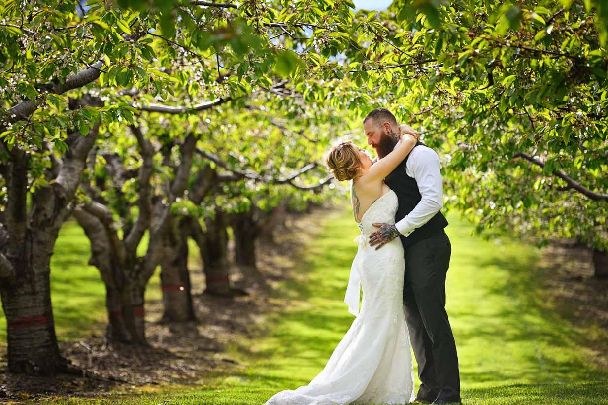 Kelowna Wedding Orchard | Destination Wedding Photographer | SLIVER Photography
