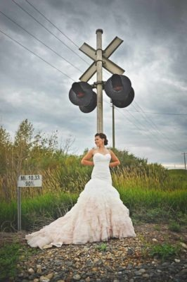 Bride and Train sign | Destination Wedding Photographer | SLIVER Photography