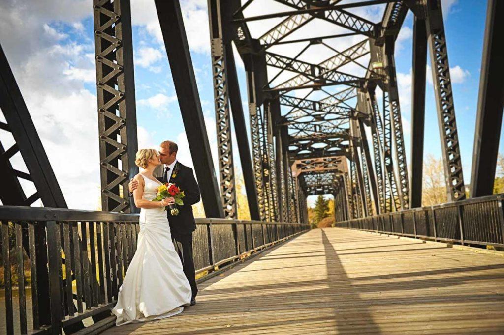 Train Bridge Wedding   Destination Wedding Photographer   SLIVER Photography