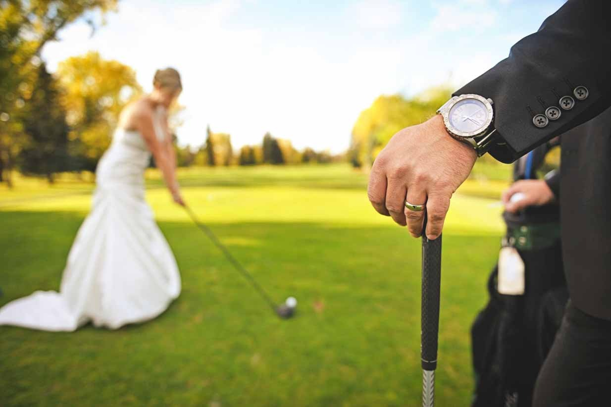 Red Deer Golf Course Wedding | Destination Wedding Photographer | SLIVER Photography