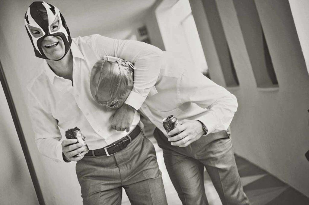 Luchador Best man | Destination Wedding Photographer | SLIVER Photography
