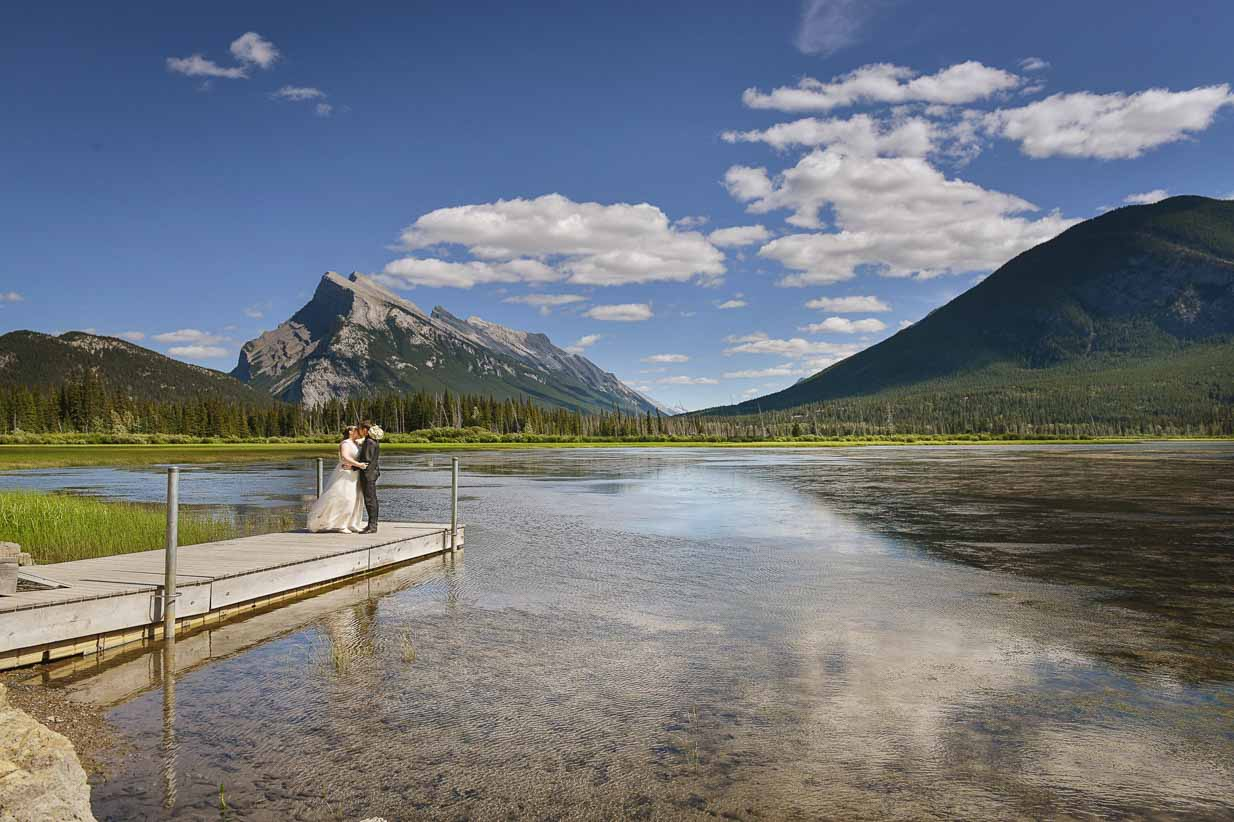 Mount Rundle Banff Wedding | Destination Wedding Photographer | SLIVER Photography