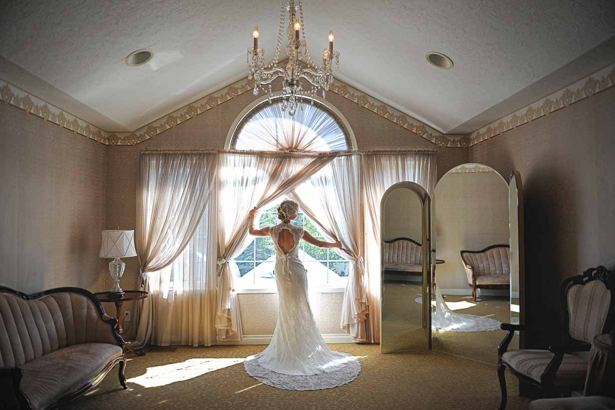 Bride in the Window | Destination Wedding Photographer | SLIVER Photography