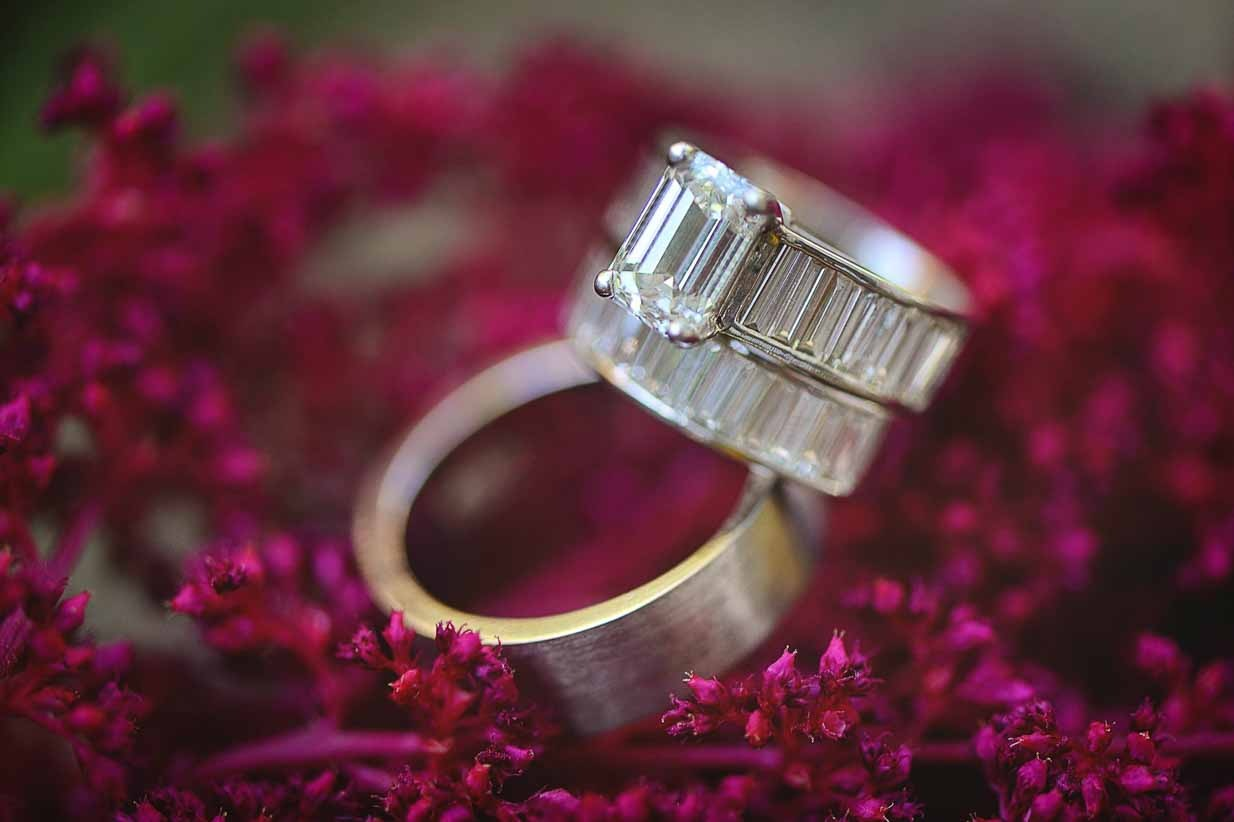 Rings on Purple | Destination Wedding Photographer | SLIVER Photography