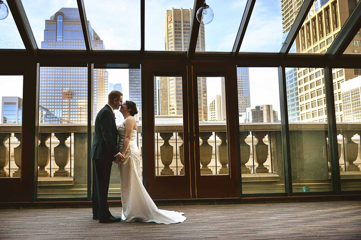 Downtown Calgary | Destination Wedding Photographer | SLIVER Photography